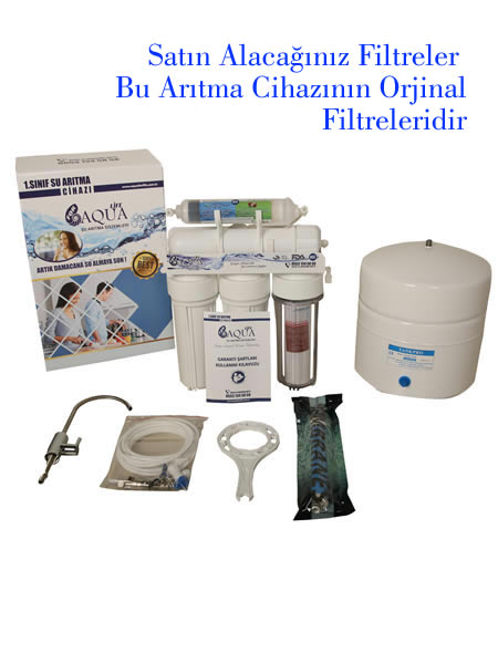 Tam Takım Yedek Aqua For Life Filtreleri